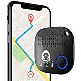 VOZNI Key Finder, Bluetooth Tracker, Key Locator, Keychain Finder, Wireless Luggage Finder with Motion Sensor and Replaceable Battery