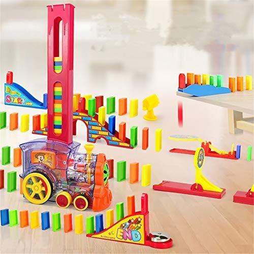 Juguetes de desarrollo ayudan a las habilidades motoras finas Domino entrega automática coche 3-6 años de edad regalo de Navidad