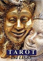 Tarot und Liebe (Wandkalender 2022 DIN A2 hoch): Mit dem Tarot durch das Jahr! (Monatskalender, 14 Seiten )