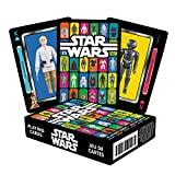 Star Wars Playing Cards - Kenner Toys Action Figures Themed Deck of Cards for Your Favorite Card Games - Officially Licensed Star Wars Merchandise and Collectibles - Poker Size with Linen Finish