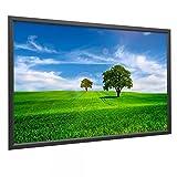 Rahmen Leinwand HomeScreen 16:10 Außenmaß H:191xB:296cm Mattweiß Gain 1.0