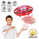 98K Hand Operated Drones for Kids or Adults, Light Up Joy Flying Ball Drone,...