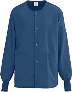 Medline PerforMAX Snap-Front Warm-Up Scrub Jacket