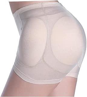 Anfelda Women Hip Pads Enhancer Panties High Waist Butt Lifter Seamless Boy Short Shapewear Underwear with 4 Removable Pads