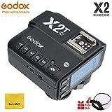 【Godox正規品】Godox X2T TTLワイヤレスフラッシュトリガー、ブルートゥース接続、1 / 8000s HSS、TCM機能、5つの独立したグループボタン、再配置されたコントロールホイール、新しいホットシューロック、新しいAFアシストライト (Godox X2T-C Flash Trigger)