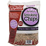 Camerons Smoking Chips - (Bourbon Soaked Oak) 260 cu. in. (0.004m³) - Kiln Dried, 100% Natural Extra Fine Wood Smoker Sawdust Shavings - 2lb Barbecue Chips