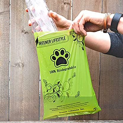 Greener Lifestyle 240 Lavender Scented Dog Poop Bags + 1 Dispenser 4