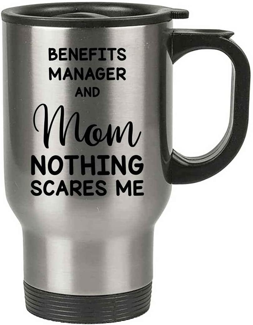 Benefits Manager Mom Mug Funny Max 86% OFF Idea Gag Max 82% OFF Mother For Joke Nothing