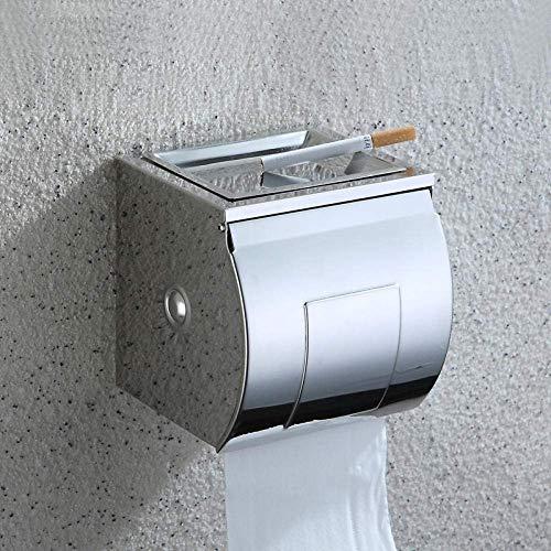 YUXIwang Soporte de papel higiénico Papierhalter Bad Tissue Box waterproof304 edelstahl toilettenpapier Box Caja de papel toilettenpapierhalter Bad Bathroom