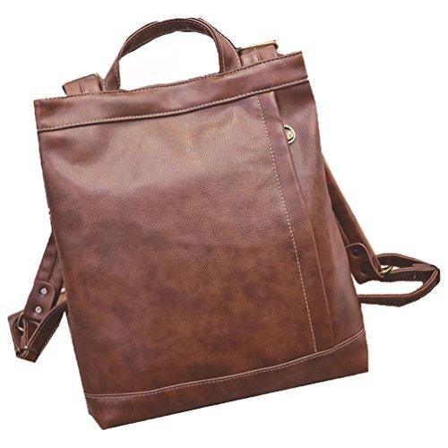 Koola's bag Mesdames Sac à Dos à l'épaule en Cuir Mignonne Personnalitée Facultée à la Mode Sac Molle Midi