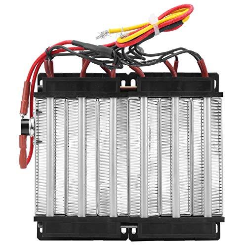 Calentador PTC aislado Piezas calefactoras termostáticas de cerámica eléctrica 1700W AC 220V Elemento calefactor PTC