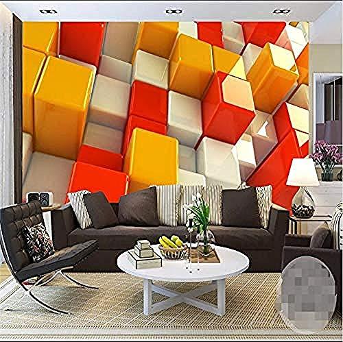 Carta da parati murale carta da parati -Adesivi murali3D perpersonalizzazione disfondi 3D per plaid spaziale moderno Hd Art Deco di qualità deluxe 3D