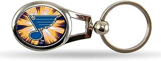 NHL Oval Keychain