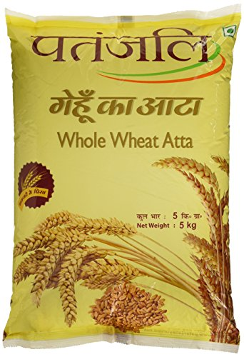 Patanjali Whole Wheat Atta, 5kg