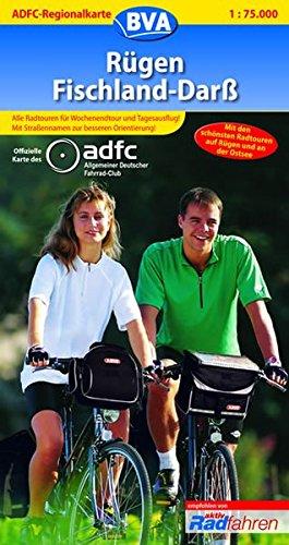ADFC Regionalkarten, Rügen, Fischland, Darß: Mit den schönsten Radtouren auf Rügen und an der Ostsee (ADFC-Regionalkarte 1:75000)