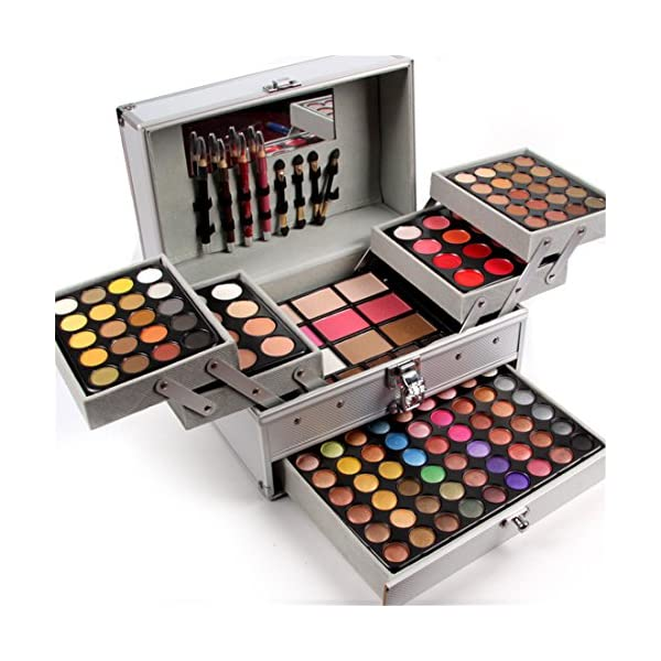 Pure Vie 132 Colors All in one Makeup Gift Set including 94 Highly Pigmented Shimmer...