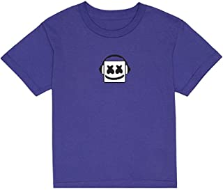 8117f987647b63 Marshmello Authentic Merchandise - Good Vibrations T-Shirt (Youth) Lime  Purple - Youth