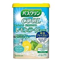 バスクリンクール 元気はじけるレモン&ライムの香り 600g × 4個セット