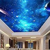 Tapeten Wandbilder,Blaue Galaxie Nebula Foto Anpassen Von