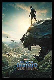 Trends International Wall Poster One Sheet Black Panther, 24.25