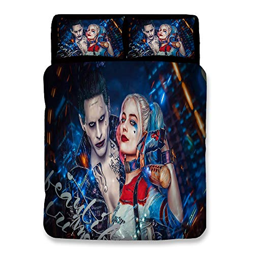 51+NbXC4PML Harley Quinn Bed Sets