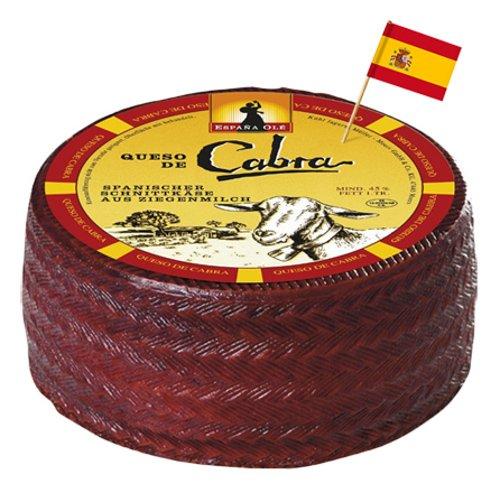Queso die Capra spanischer Ziegenkäse, 45% fett ca. 1 kg Stück