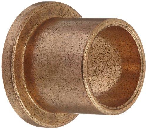 Oilube Powdered Metal Bronze SAE841 Flange Bearings INCH Item # 102079