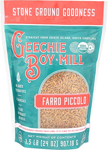 Review Of Geechie Boy Mill Farro Piccolo, 24 Ounce Bag