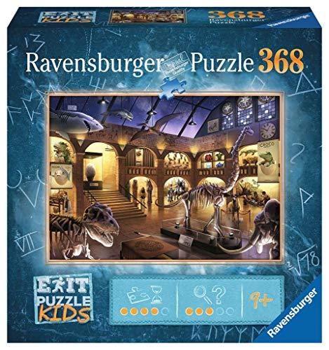 Ravensburger EXIT Puzzle Kids - 12925 Im Naturkundemuseum - 368 Teile Puzzle für Kinder ab 9 Jahren, Kinderpuzzle