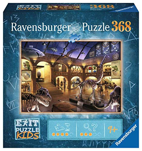 Ravensburger EXIT Puzzle Kids 12925 - Im Naturkundemuseum - 368 Teile für Kinder ab 9 Jahren