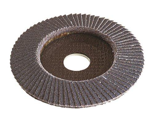 Wolfcraft 2028099 2028099-1 Disco abrasivo de láminas, corindón de circonio Grano 60, Granel, plata