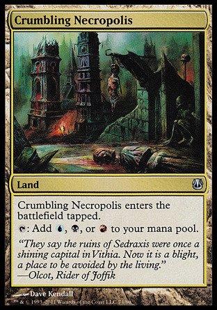 Magic: the Gathering - Crumbling Necropolis - Duel Decks: Ajani vs Nicol Bolas by Magic: the Gathering