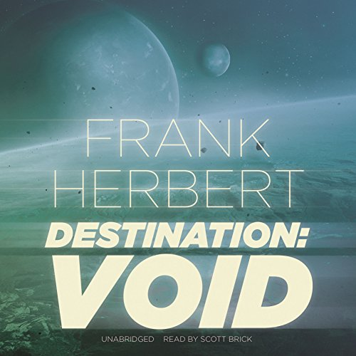 Destination: Void audiobook cover art
