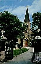St. James Catholic Church Lemont, Illinois Original Vintage Postcard