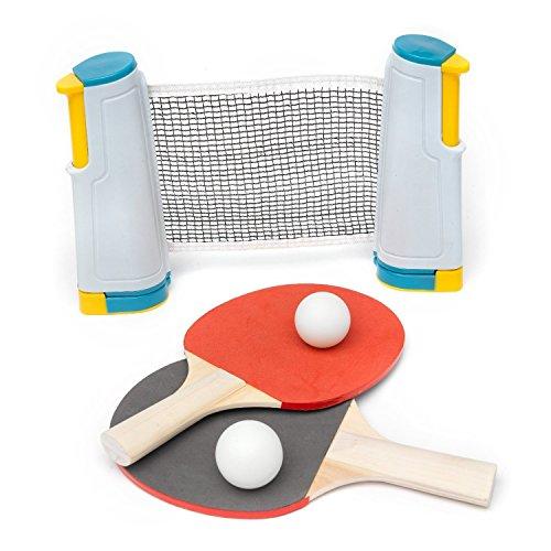 dalla A alla Z Kids 'a Scomparsa Set da Ping Pong, Multicolore, Taglia Unica