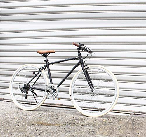 Adulto Ligero Retro del Viajero Bicicletas, Ciudad de galvanoplastia Bicicletas Todo Terreno 700C, 6 Velocidad Hombres Mujeres General Purpose Bicicletas Informal,C
