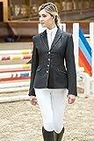 Equit'm Giacca Equitazione Donna Striped da Concorso Abbigliamento Equitazione Giacche