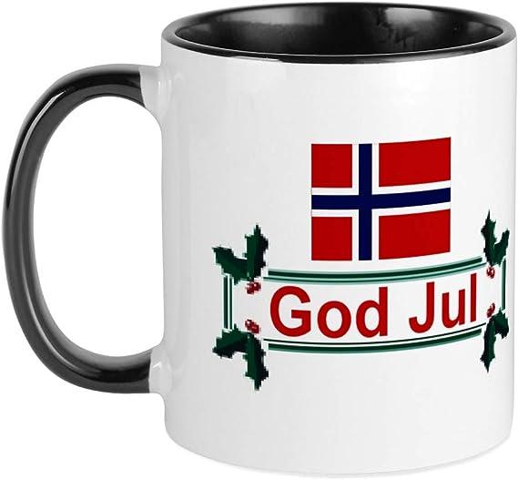 Cafepress Norway God Jul Mug Unique Coffee Mug Coffee Cup Kitchen Dining