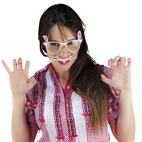 Elbenwald Limit Sport – Lunettes Amusantes de lapine – Articles de Blague excellents pour déguisements