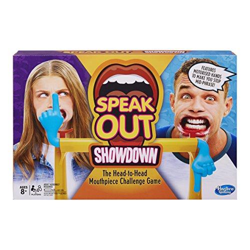 Hasbro Gaming E1917102 Speak Out Showdown, Nylon/a