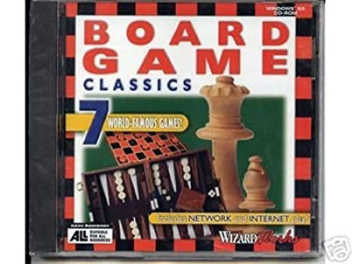 Board Game Classics 7 World-Famous Games!