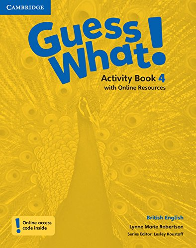Guess What. 4 - Activity Book With Online Resources - British English