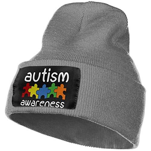 nxnx Die Frauen der weichen Strickmütze-Männer, 100% Acrylsäure-Autismus-Bewusstseins-Uhr-Kappe 21382