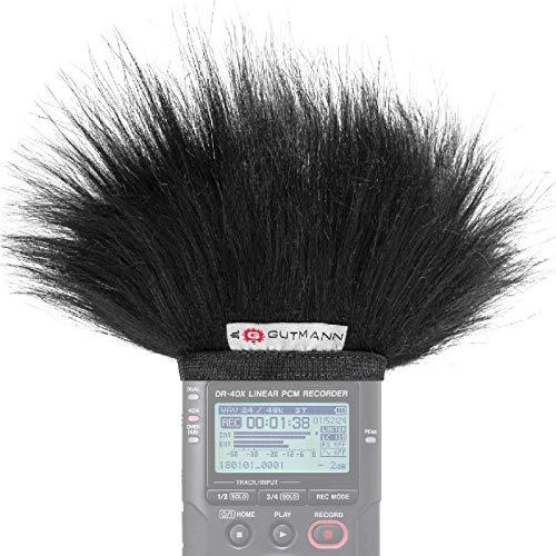 Gutmann Microfono protezione antivento pelo per Tascam DR-40X DR-40 V2