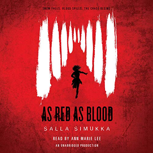 As Red as Blood audiobook cover art