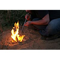 Spitfire Pocket Bellows – Compact Telescopic Tube for Blowing Additional air into a fire for Easy fire-Lighting. UK-Made…