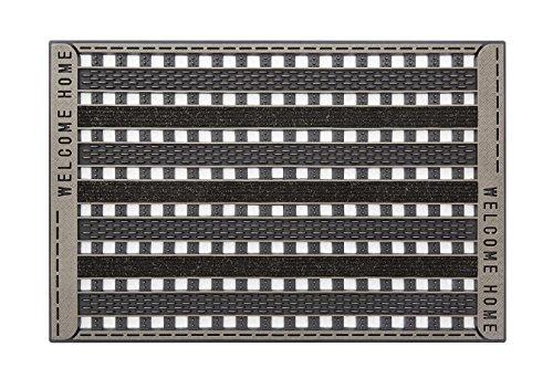 CarFashion 279660 Pur|Gridclean – Fußabtreter und Schmutzfangmatte für Innen und Aussen mit Bronce-Metallic Oberfläche, ca. 59 x 39 cm