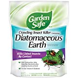 Garden Safe Brand Crawling Insect Killer Containing Diatomaceous Earth, 4-Pound