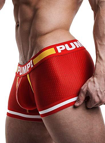 PUMP! Touchdown Flash Boxer rot