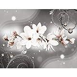 Fototapete Blumen Magnolien Vlies Wand Tapete Wohnzimmer Schlafzimmer Büro Flur Dekoration Wandbilder XXL Moderne Wanddeko - 100% MADE IN GERMANY - Runa Tapeten 9234010a